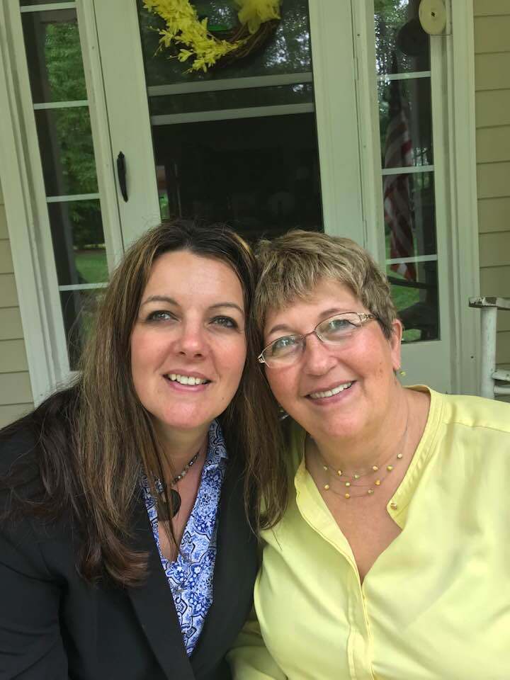 Picture of Stasia with her mom.
