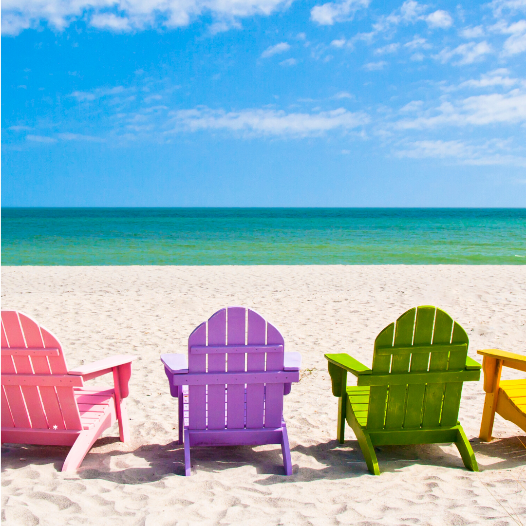 Day 24 pic of beach chairs